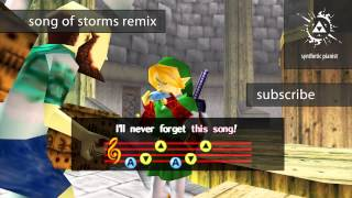 Legend of Zelda: Ocarina of Time - Song of Storms Dubstep Remix