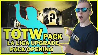 TOTW PACK + LA LIGA UPGRADE PACK OPENING! | FIFA 18 CZ