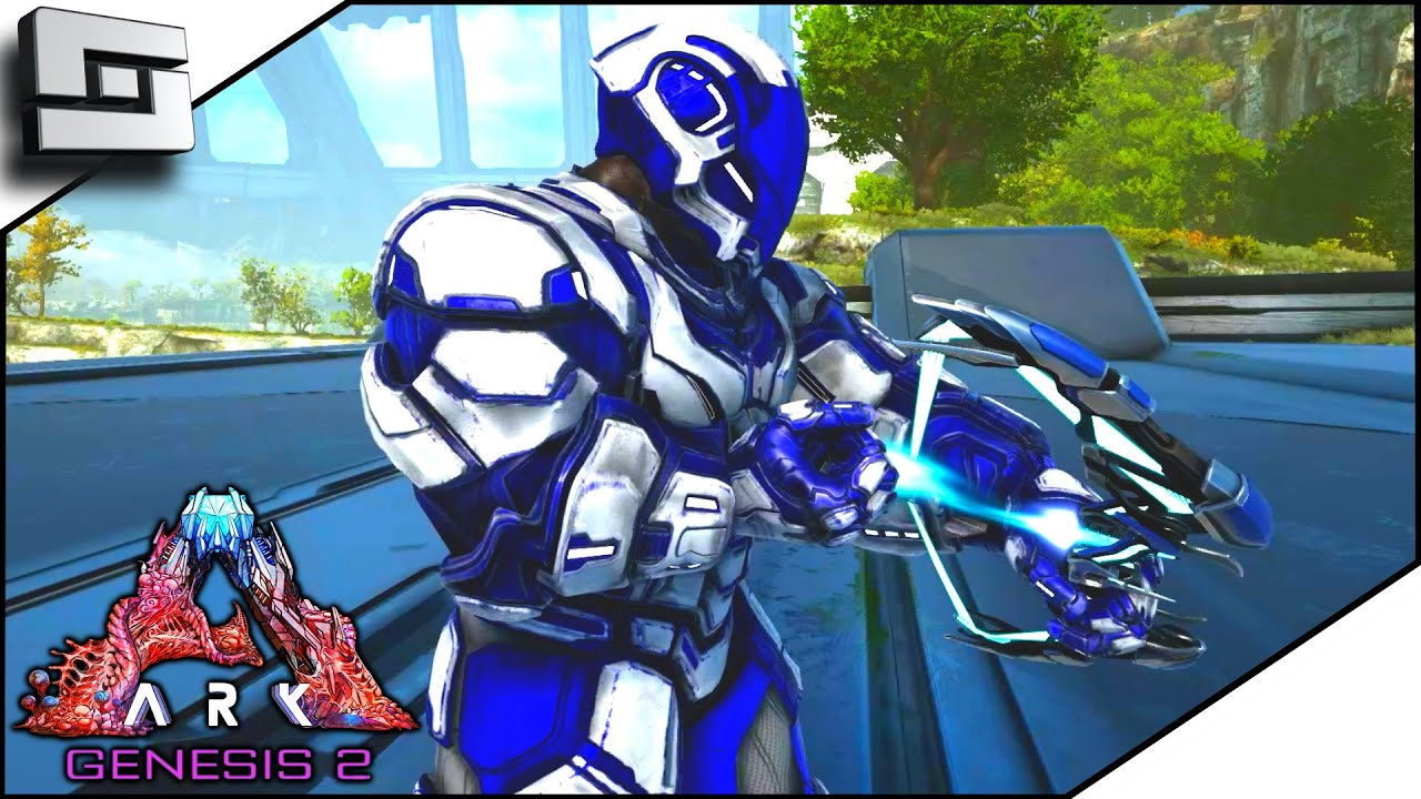 Crafting The Most Powerful Tek Bow In Ark Genesis 2! E24