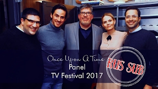 Once Upon a Time panel at aTV Festival 2017  [RUS SUB]