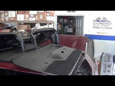 new dash pad door panels 1969 ford mustang restoration part 53 laurel mountain mustang youtube. Black Bedroom Furniture Sets. Home Design Ideas