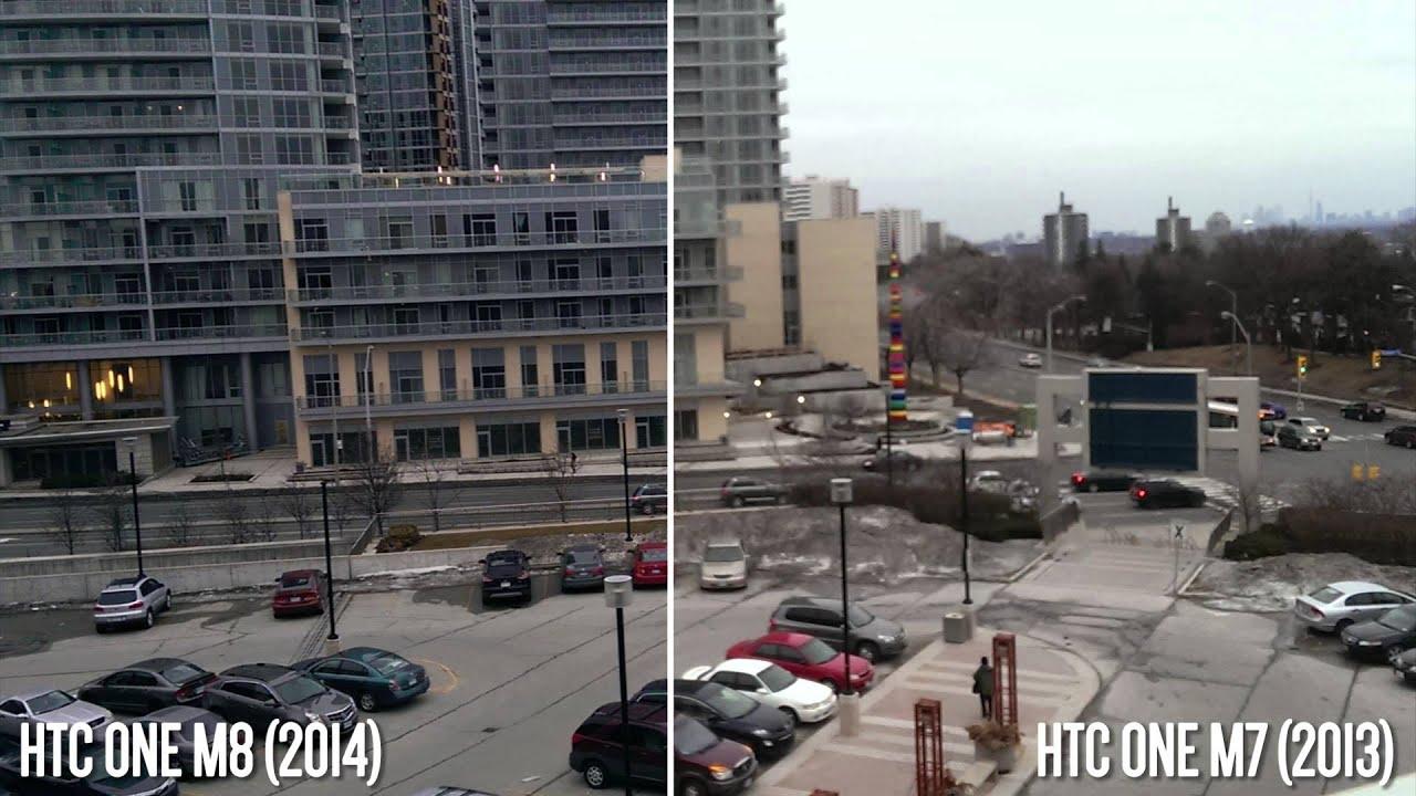 HTC One M8 vs M7 Camera Comparison! - YouTube