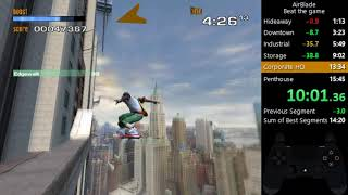 AirBlade Any% Speedrun 12:22 IGT