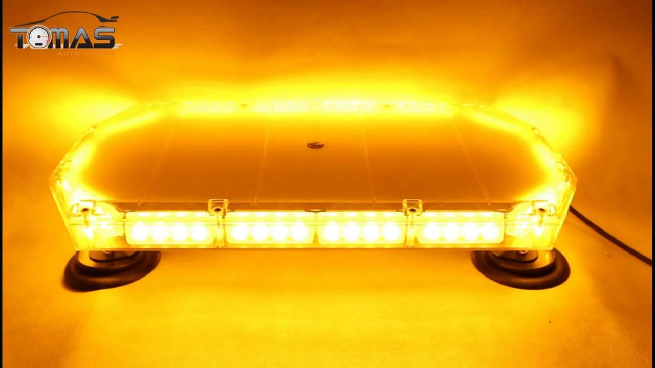 Wszystkie nowe Kogut sygnalizator na magnes 12V 24V LED 56 Diód - YouTube MP59