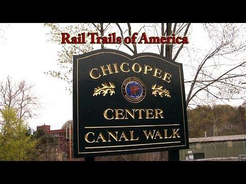Rail Trails of America - Chicopee Center Canal Walk, Chicopee, MA