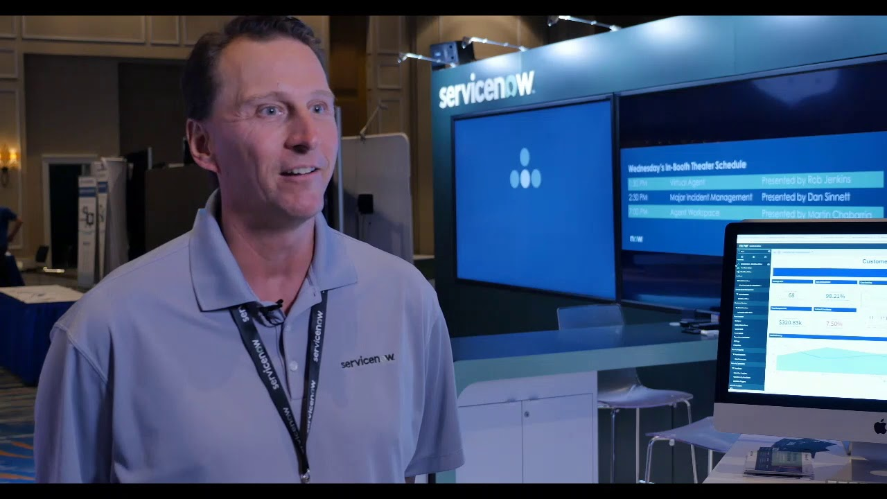 HDI Events Exhibitor Experience - ServiceNow