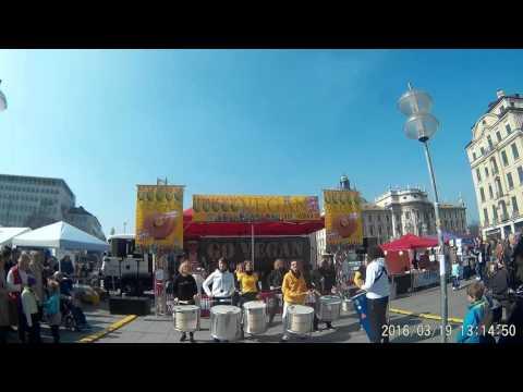 Marine Platz VEGAN  Review of Marienplatz, Munich, Germany HD