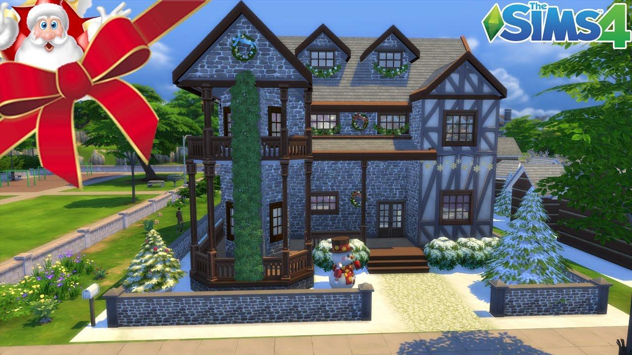 La Maison Du Pere Noel.Les Sims 4 La Maison Du Père Noël Construction Speed Build