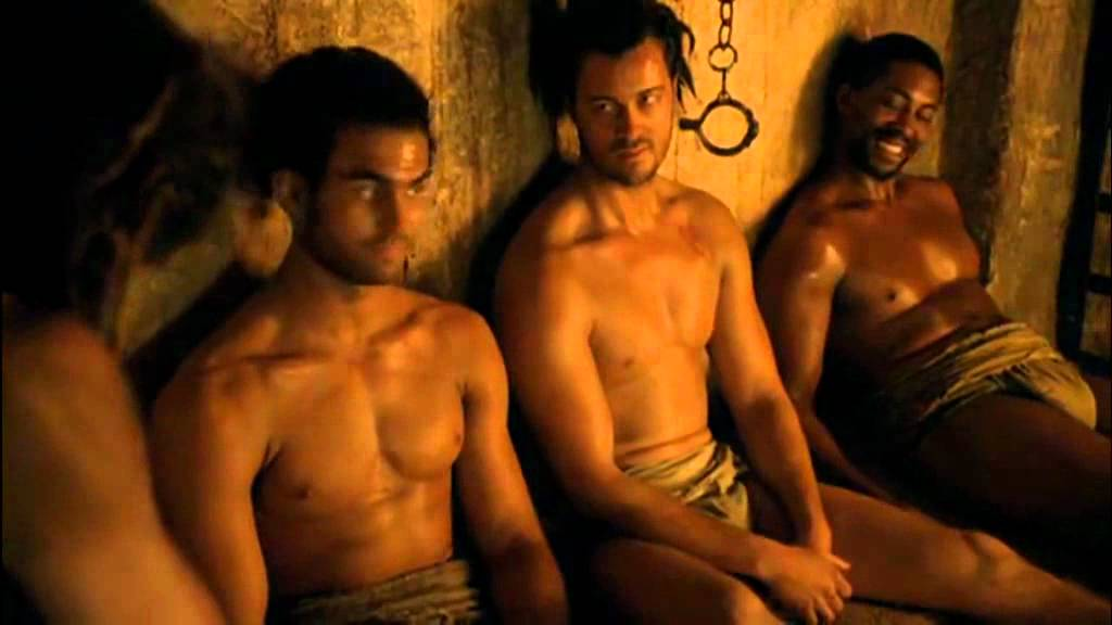 Spartacus gay sex video