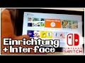 Nintendo Switch - Einrichtung & Interface (Deutsch)