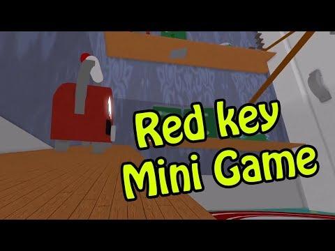 Hello Neighbor Red Key Mini Game Roblox Youtube