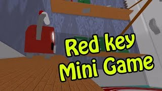 Hello Neighbor Red key Mini Game | Roblox
