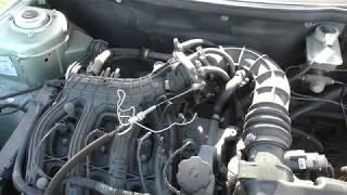 ремонт троса дроссельной заслонки ВАЗ 21104