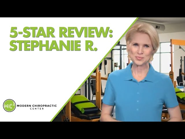 Modern Chiropractic Center Boise Excellent 5 Star Review by Stephanie R.