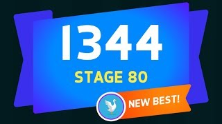 KNIFE HIT STAGE 80 (SCORE 1344)