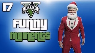 gta 5 online funny moments ep 17 extra christmas clips dlc
