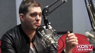 MICHAEL BUBLE talks about Lu and the baby on KOST 103.5- Part 2 (w/ Subtitles)