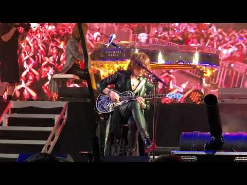 X Japan - Endless Rain- Live at Coachella 2018 Weekend 1
