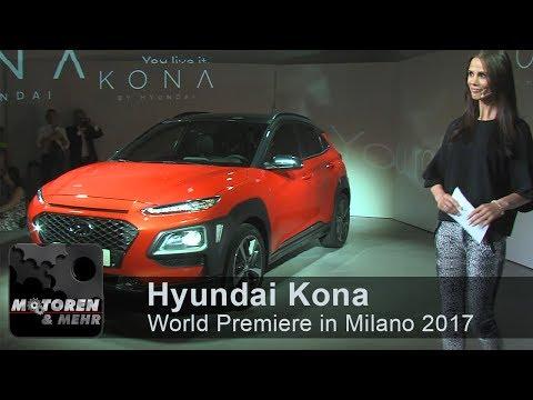 Hyundai Kona - World Premiere & PressConference Milano 2017