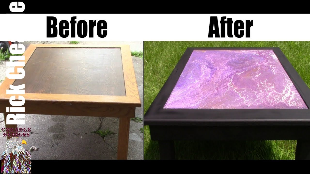Incroyable Coffee Table MakeOver