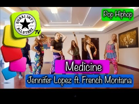 Medicine| Jennifer Lopez Ft  French Montana| Zumba® | She Ragpala | Choreography | Dance Fitness