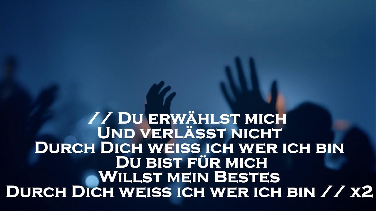Ich weiss wer ich bin Hillsong Auf Deutsch karaoke - YouTube