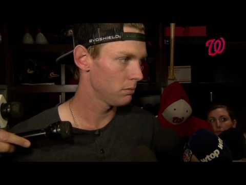 Stephen Strasburg on Justin Turner and the loss to the Dodgers