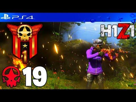 19 KILL SOLO WIN! H1Z1 PLAYSTATION 4 GAMEPLAY (MY HIGHEST KILL WIN)