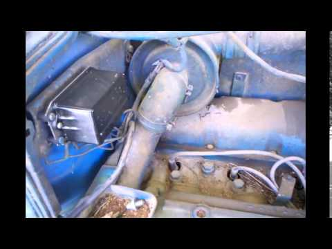 Ford 2000 Tractor 3 Cylinder Valve Adjustment Part 1  YouTube