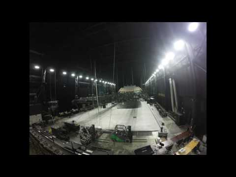 Building the Grid - Behind the Scenes Ringling Bros. Presents Out Of This World