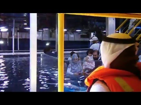 Glass Bottom Boat Ride, Dubai Mall