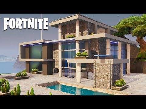 Fortnite Creative - Modern House (Speed Build)