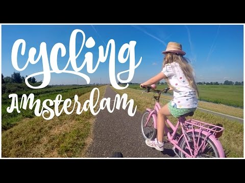 AMSTERDAM ON BIKES WITH KIDS  | twoplustwocrew
