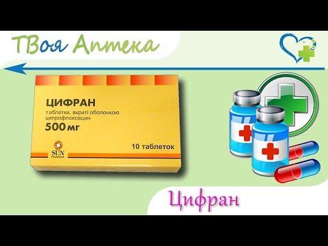 Цифран таблетки - показания (видео инструкция) описание, отзывы