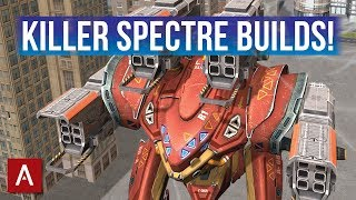 War Robots Spectre - KILLER MK2 BUILDS   iOS Champion League Gameplay