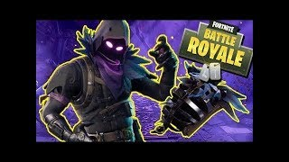I BOUGHT THE SKIN AND THE DELTA WING RAVEN-FORTNITE