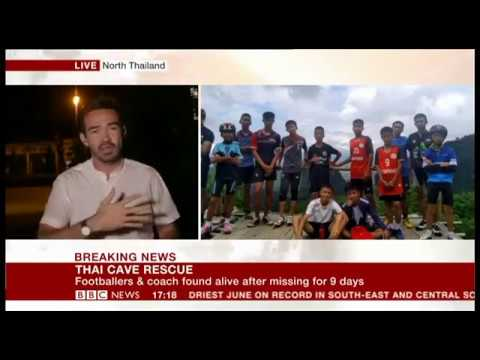 FOUND! Thailand's Cave Rescue - Breaking News on BBC News Ch