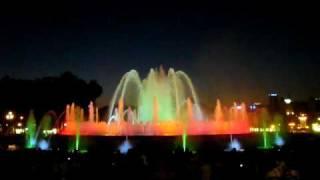 поющие фонтаны Барселона(, 2009-05-14T16:23:08.000Z)