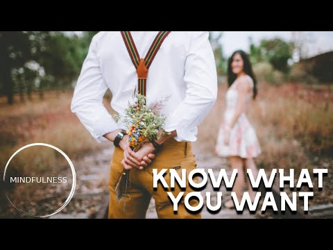Know What You Want - Tony Robbins - MINDFULNESS