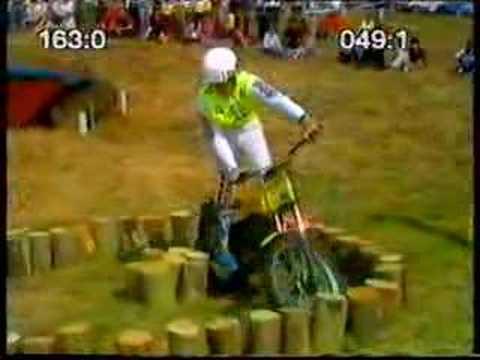 Kick Start Trials Easton Neston Park 1982 Part 1