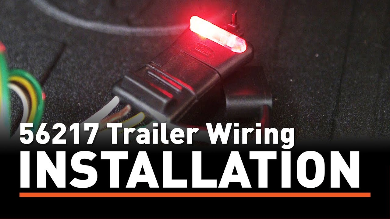 Trailer Wiring Install Curt 56217 Taillight Converter On A Toyota 7 Pin Diagram Highlander