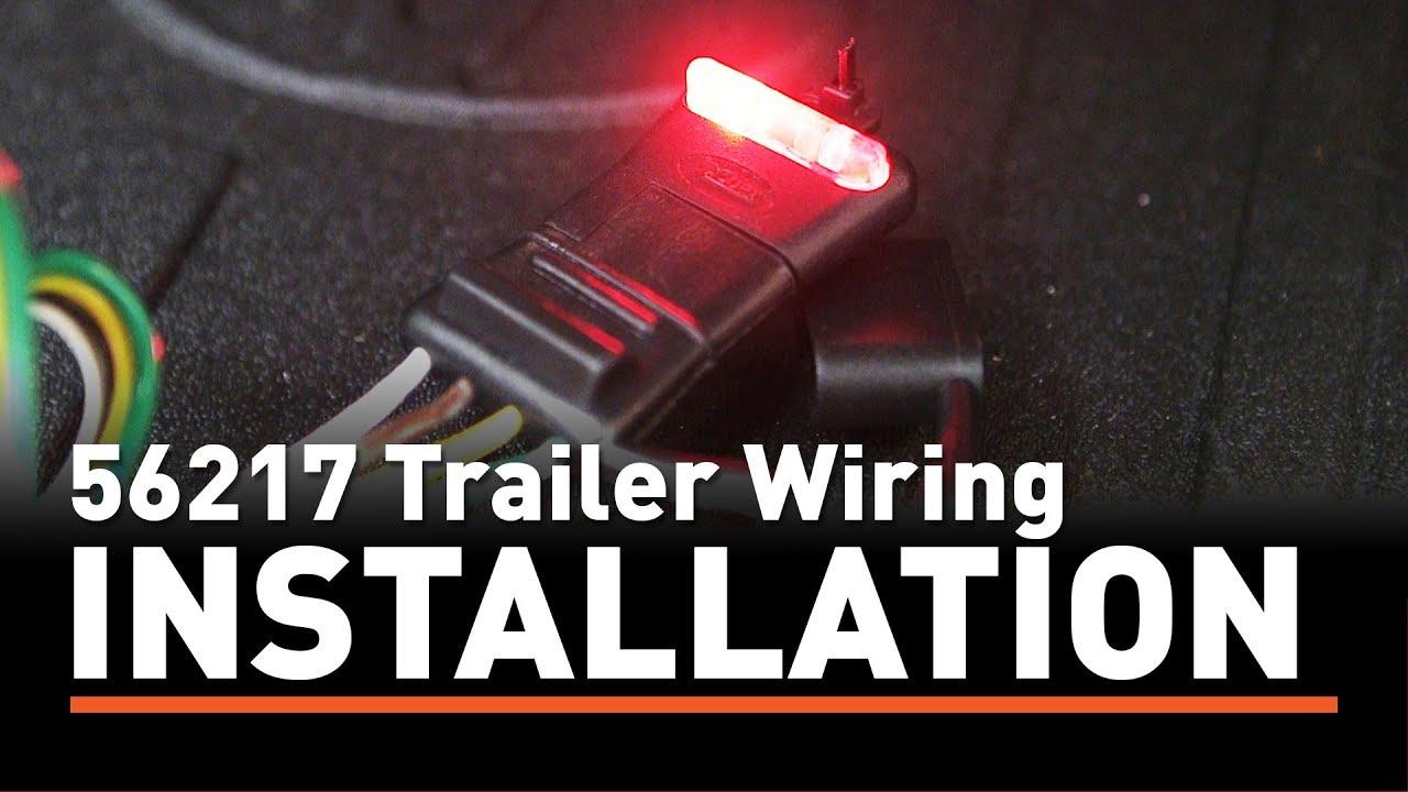 trailer wiring install curt 56217 taillight converter on a toyota highlander [ 1280 x 720 Pixel ]