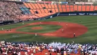 全国高校野球選手権 神奈川大会 3回戦 横浜高校 VS 三浦学苑 2015年7月1...