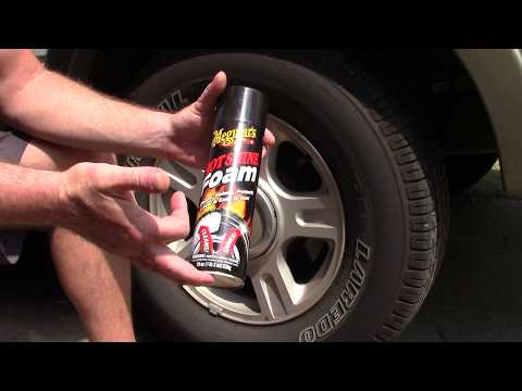 Meguiar's Hot Shine Tire Foam - Very Difficult Review!