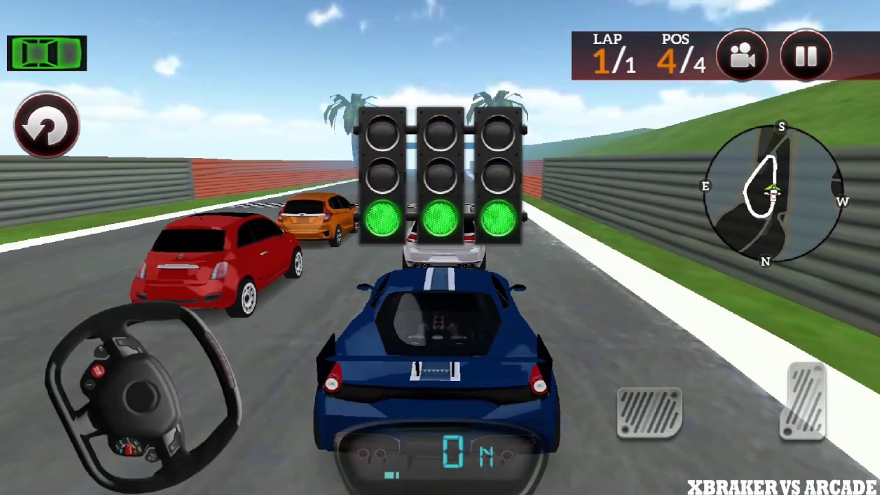 Drive For Speed Simulator: S 678 Blue Car Unlocked - Android GamePlay HD