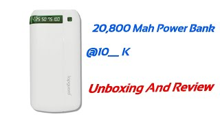 Unboxing Lapguard Power Bank With 20800 Mah Battery IN TAMIL MAKE ANYTHING NEW