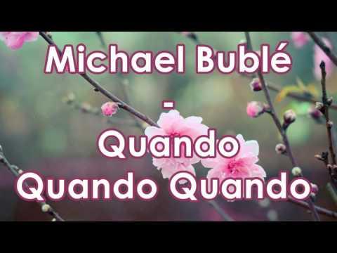 Michael Bublé Feat. Nelly Furtado - Quando Quando Quando (Subtitulado)