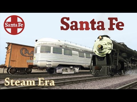Atchison,Topeka and Santa Fe - Steam era