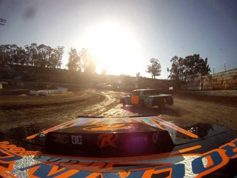 Santa Maria Speedway Austin Ruskauff Hobby Stock #88R Heat Race View #1 7/27/13