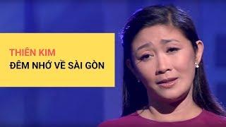 Gambar cover Đêm Nhớ Về Sài Gòn | Trình bày: Thiên Kim | Tác giả: Trầm Tử Thiêng | Hòa âm: Mai Thanh Sơn